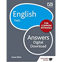 English for Common Entrance Two Answers (GP)