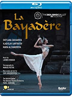 La Bayadere [Blu-ray] [Import italien] by Minkus (B00DS7Z3O0) | Amazon Products