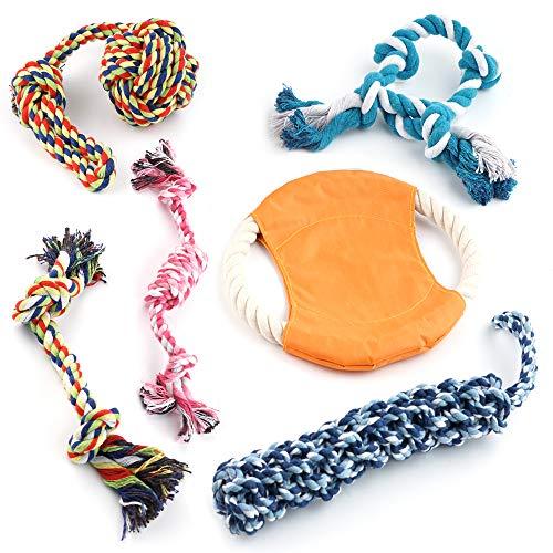 6 Hund Seil Spielzeug, Chew Kauspielzeug – Welpen Spiel… | 00604348591789