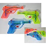 6x Kinder Wasserpistole 12,5cm Spritzpistole Wasserspritze Mitgebsel Tombola Party