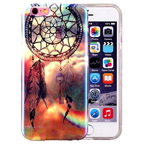 Phone case & Hülle Für iPhone 6 / 6s, IMD Dandelions Pattern Blu-ray Soft TPU Schutzhülle ( SKU : IP6G2040C ) IP6G2040J