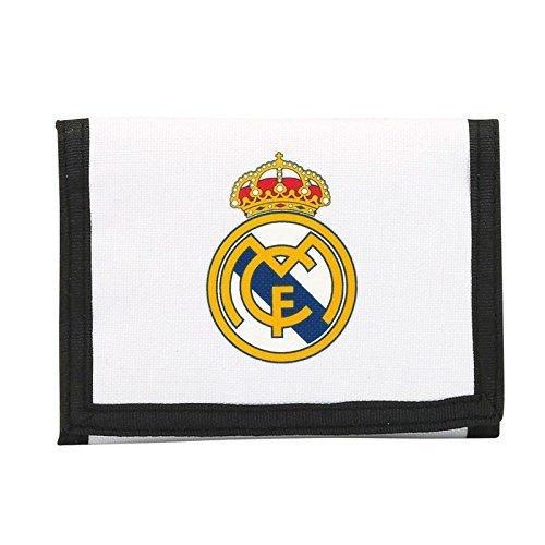 Billetera Real Madrid Cartera Monedero Hombre Mujer