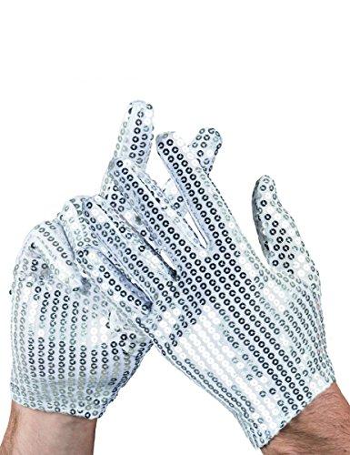 etten Handschuhe Erwachsene (Erwachsene Weiße Kostüme Handschuhe)