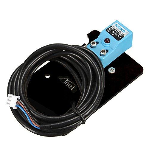 Aibecy Mejorar Auto Autonivelante Cama de Calor Posición Ajuste Inductivo Proximidad Sensor con Montaje Plato & Empulgueras para Anet A8 Reprap Diy I3 Impresora 3D