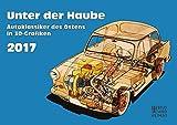 Unter der Haube 2017: Autoklassiker des Ostens in 3D-Grafiken