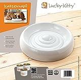 """Lucky-Kitty Keramik Katzennapf """"XL"""" (ø 27cm) – auch für mehrere Katzen geeignet. - 4"""