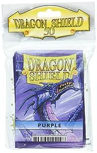 Arcane Tinman Dragon Shield Fundas: 50CT Juego de Cartas, Color Morado