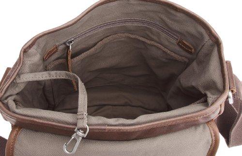 Fossil , Borsa Messenger  uomo, marrone (Marrone) - Combat - Flight Bag marrone
