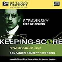 Stravinsky: The Rite of Spring, The Firebird Suite (selections)