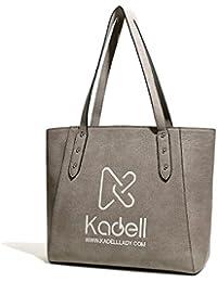 Kadell Borsa di Tote Sacchetto di spalla per le donne Borsa di lusso di marca di lusso