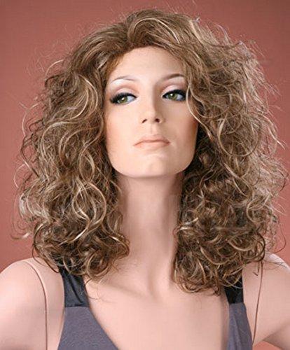 Forever Young Ladies peluca larga rizos fresno marrón