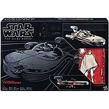 Hasbro Star Wars C1426EU4 - The Black Series 6 Zoll Luke Skywalker und Landspeeder, Spielset