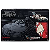 Hasbro Star Wars C1426EU4 - The Black Series 6 Zoll Luke Skywalker und Landspeeder, Spielset