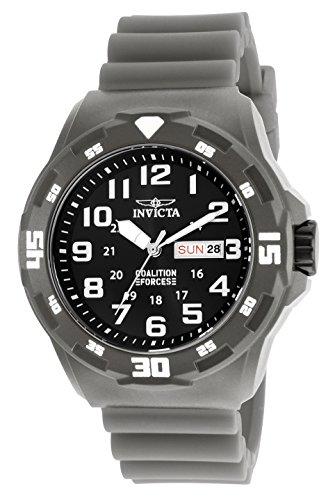 Invicta 25325 Coalition Forces Reloj para Hombre plastico Cuarzo Esfera negro