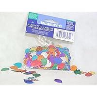 Confetti per decorazioni confezione assortiti con Palloncini e Coriandoli -Happy Birthday Festa di Compleanno -Tavola - non alimentari in plastica