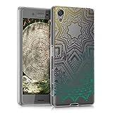 kwmobile Funda para Sony Xperia X - Case para móvil en TPU silicona - Cover trasero Diseño Sol...