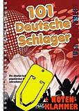101 Deutsche Schlager(Neuauflage) im Ringeinband inkl. praktischer Notenklammer - Die absolut beliebtesten und populärs