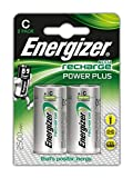 Energizer NimH-Akku Rechargeable Power Plus Baby (C) (1,2Volt 2500mAh, 2er-Packung)