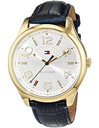 Tommy Hilfiger Damen-Armbanduhr Sophisticated Sport Analog Quarz Leder 1781675