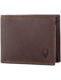 WildHorn® RFID Protected Genuine High Quality Leather Wallet for Men New