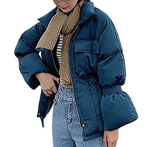 Damen Winter Outwear Stehkragen Sakko Cardigan Einfarbiger einreihiger Damen-Wollmantel Knielang Mantel aus kuscheligem Sweat Eleganter offener Mantel Long Blazer