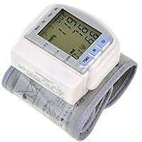 LL-Monitor automático de presión arterial electrónico portátil de muñeca Monitor automático de presión arterial inteligente hogar Medición de precisión a medidor de presión arterial de calidad médica Home Parents Health Gifts