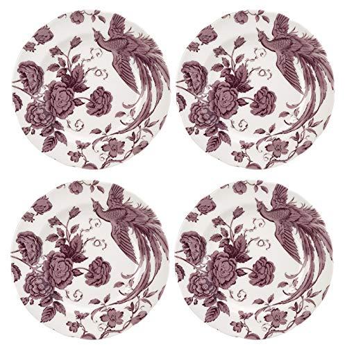 Spode KINWH0120 Teller, Keramik, Weiß -