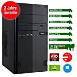 Rhino Rapid a9710 W10 mit Windows 10 I AMD A10-9700 4x 3.5 GHz I 8 GB DDR4 I NVIDIA GeForce GT1030 2 GB I MSI I 120 GB SSD I DVD-Brenner I Xilence Cooler & Netzteil I USB 3.0 | Gigabit-LAN | 7.1-Kanal-Sound I Bullguard Internet Security Lizenz 1 Jahr / 5 PCs I 36 Monate Garantie