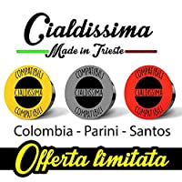 cialdissima 150 CAPSULES COMPATIBLE LAVAZZA A MODO MIO COFFEE! ITALIAN ESPRESSO! THREE DIFFERENT BLENDS! 3x 50 MIXED PACK