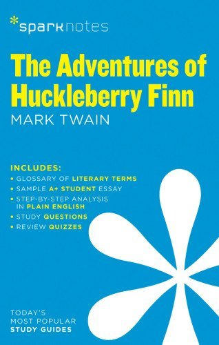 Adventures of Huckleberry Finn by Mark Twain, The (SparkNotes Literature Guide) by SparkNotes Editors (2014-03-07)