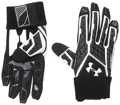 Under Armour Combat V American Football Linebacker Handschuhe - schwarz Gr. XL