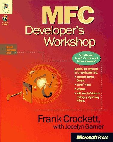 Preisvergleich Produktbild MFC Developer's Workshop, w. CD-ROM (Programming Series)