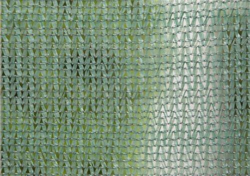 Bradas AS-CO6015050GR Sichtschutz – Windschutz – Staubschutz, 1,5 x 50 m, Schattierwert 55 %, dunkelgrün