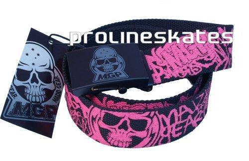 Preisvergleich Produktbild Madd Gear Mgp Gürtel schwarz pink
