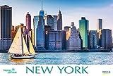 New York   2019: Großer Foto-Wandkalender mit Bildern aus der Metropole in den USA. Travel Edition mit Jahres-Wandplaner. PhotoArt Panorama Querformat: 58x39 cm.