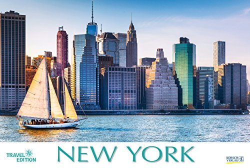 New York 212619 2019: Großer Foto-Wandkalender mit Bildern aus der Metropole in den USA. Travel Edition mit Jahres-Wandplaner. PhotoArt Panorama Querformat: 58x39 cm.
