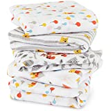 aden by aden + anais muslin squares 5-pack- Winnie the Pooh (60 x 60cm)