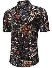 fd4b0db4caa5d Amazon.es  Etnica - Multicolor   Camisas   Camisetas