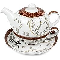 "Cha Cult - Tea for one Set ""Ben"" 0.5L ; Porcelana"