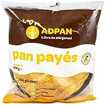 Adpan Pan Payés - Paquete de 6 x 450 gr - Total: 2700 gr -