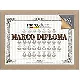 Marco para diploma A4 color Crema tela