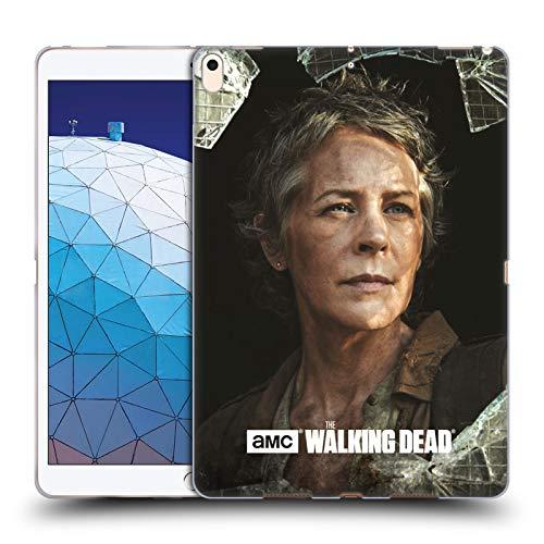 Offizielle AMC The Walking Dead Carol Gefilterte Persönlichkeiten Soft Gel Huelle kompatibel mit iPad Air (2019) -
