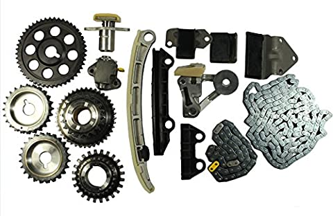 GOWE Timing Chain Kit Fit For Chevrolet Suzuki V6 2.5 / 2.7 Liter H25A H27A