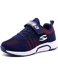Baskets Enfants Chaussure de Course Fille Sneakers Enfant Garçon Chaussures Scolaire l'École Running Shoes Compétition Entraînement Chaussure