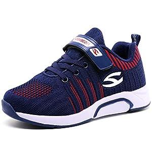 XIAO LONG Turnschuhe Kinder Sneaker Jungen Sportschuhe Mädchen Hallenschuhe Outdoor Laufschuhe für Unisex-Kinder