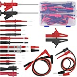 Multimeter Test Leads 22-Pieces Multimeter Probes Electronic Professional Test Lead Multimeter Kit Includes