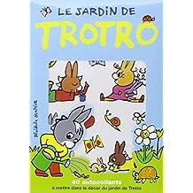 Pochette Autocollants Jardin Trotro 40 Pieces