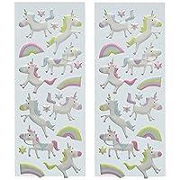 Puffy Classic Stickers-Unicorns (Parent)