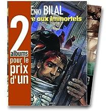 2 albums pour le prix d'1 : La Foire aux immortels + XXe ciel.com, tome 1 en cadeau