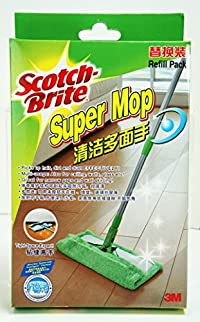 Scotch-Brite Super Mop Refill - Washable Microfiber Cloth